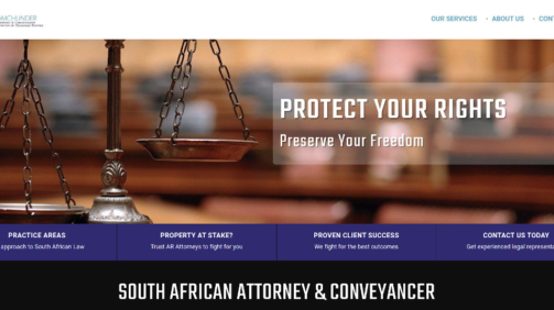 AR Attorneys Website Design